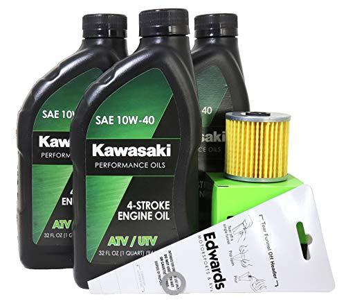 1999 Kawasaki BAYOU 220 Oil Change Kit