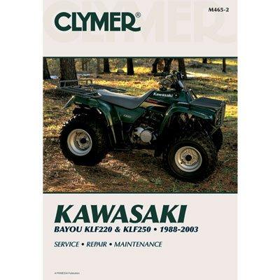Clymer Repair Manuals for Kawasaki BAYOU 220 1988-2002