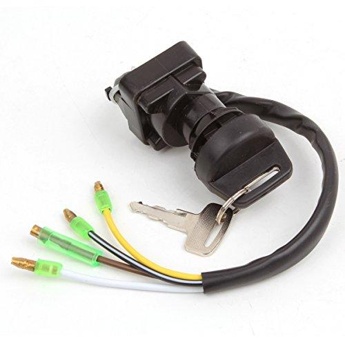 Wingsmoto Ignition Key Switch for Kawasaki BAYOU 220 KLF220 1988-1995 BT 1989 1990 1991