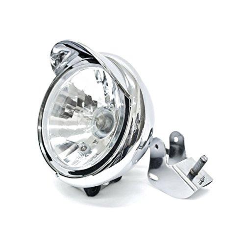 Krator Motorcycle Custom Chrome Headlight Head Light For Kawasaki VN Vulcan Classic MeanStreak Nomad 1600