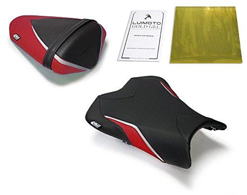 Kawasaki ZX6R 2009-2012 Luimoto Team Kawasaki Seat Covers Front Rear  Gel Pad