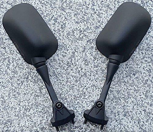 i5 Black Mirrors for Kawasaki Ninja ZX6 ZX6R ZX6RR 2005-2008 ZX10 ZX10R 2004-2007