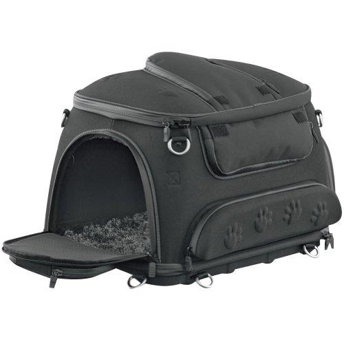 Kuryakyn Pet Palace Sissy Bar Bag - Black  185 L x 15 W x 13 H
