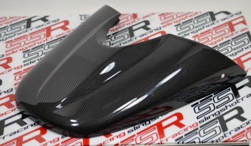 Triumph Speed Triple 1050 Carbon Fiber Passenger Rear Seat Cowl Cover Fairing