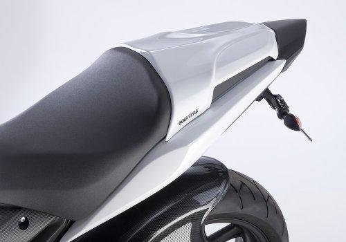 Pillion seat cover Bodystyle Honda CBR 600 F 11-12 white