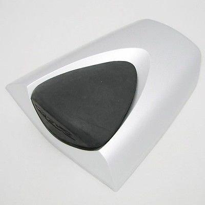 Silver Rear Pillion Seat Cover Cowl for 2007-2012 Honda CBR 600 RR CBR600RR