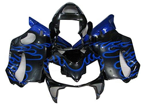 Blue Black Fairing Kit for Honda 2001 2002 2003 CBR600 F4I Injection Mold Bodywork Plastic