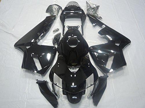 ZXMOTO ABS Injection Motorcycle Fairing Bodywork Kit for Honda CBR 600RR F5 2003 - 2004 Gloss Black Pieceskit 20