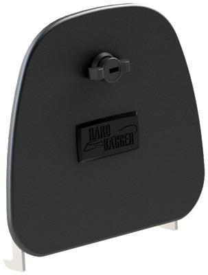 HardBagger 11405 Aluminum Lower Fairing Door - Single Locking
