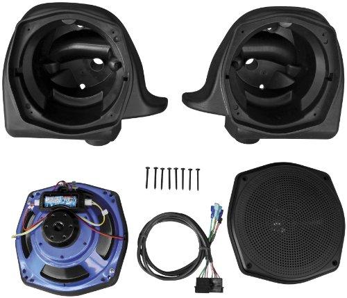 J&M Audio Rokker 725 Lower Fairing Speakers for 2006-2013 Harley-Davidson Touring models - HLRK-7252-RXX