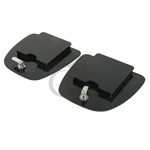TCMT ABS Lower Fairing Locking Glovebox Doors For Harley Davidson Touring 05-13 12 10