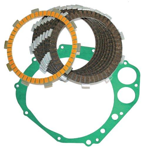 Caltric CLUTCH FRICTION PLATES COVER GASKET Fits SUZUKI GSXR750 GSXR 750 GSX-R750 GSXR750X 2000-2005