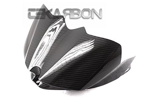 2007 - 2008 Yamaha YZF R1 Carbon Fiber Tank Cover - Twill