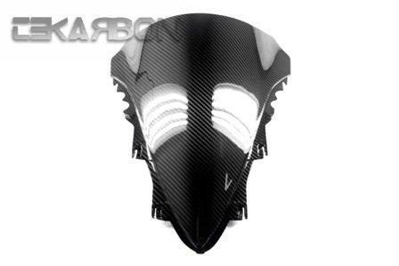 2007 - 2008 Yamaha YZF R1 Carbon Fiber Windscreen - Twill