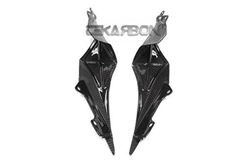 2015 - 2017 Yamaha YZF R1 Carbon Fiber Inner Tail Side Panels