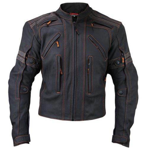 Vulcan Mens VTZ-910 Street Motorcycle Jacket - 2X-Large