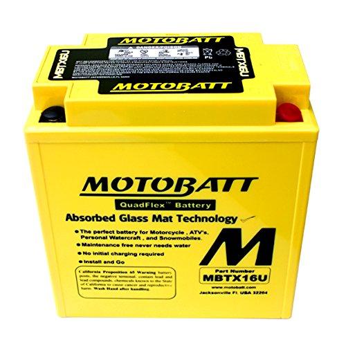 NEW Motobatt Battery For Kawasaki Vulcan 1500 1600 1700 2000 Motorcycles