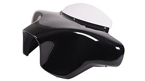 Vector Batwing Fairings F8-2 Kawasaki Vulcan 1500 Nomad fiberglass batwing fairing with 2x6x9 speaker cutouts