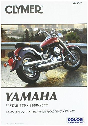 Clymer Yamaha V-Star 650 1998-2011