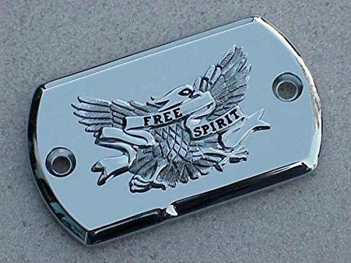 i5 Chrome Eagle Brake Fluid Cap for Yamaha V-Star 650 950 1100 1300