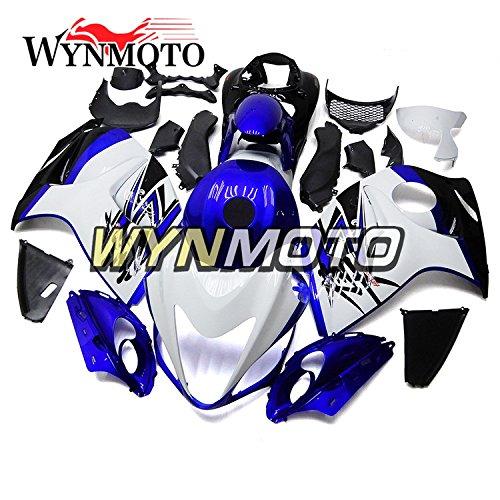 WYNMOTO Motorcycle Body Kit For Suzuki GSXR1300 Hayabusa 08 - 15 2008 2009 2010 2011 2012 2013 2014 2015 Pearl Blue White Sportbike ABS Plastic Injection Body Frames