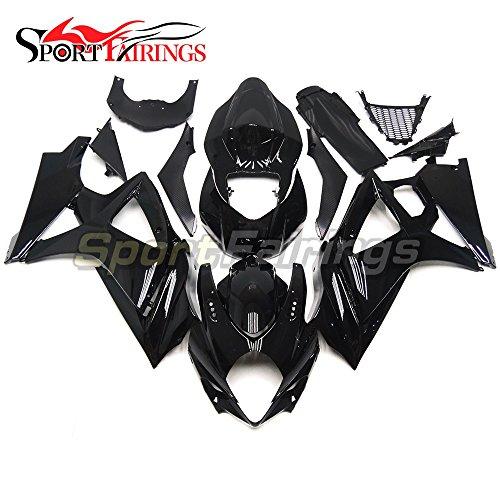 Sportfairings Complete Fairing Kits For Suzuki GSX-R1000 K7 2007 2008 GSXR-1000 Fairings ABS Cowling Gloss Black