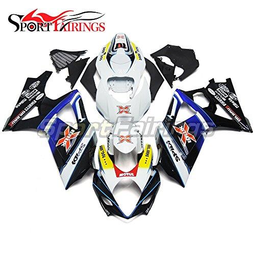 Sportfairings Fairing Kits For Suzuki GSX-R1000 K7 2007 2008 GSXR-1000 Fairings Frames Dark Dog X Brux