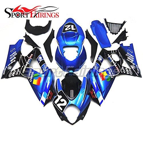 Sportfairings Motorcycles Fairing For Suzuki GSX-R1000 K7 2007 2008 GSXR-1000 Fairings Body Kits Jomo Blue