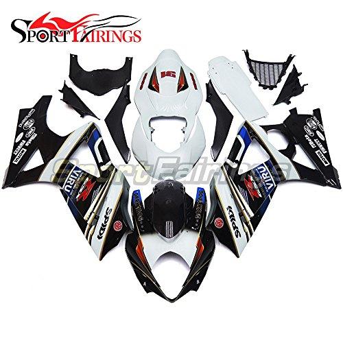 Sportfairings Motorcycles Fairing Kits For Suzuki GSX-R1000 K7 2007 2008 GSXR-1000 Fairings Dark Dog Viru 91
