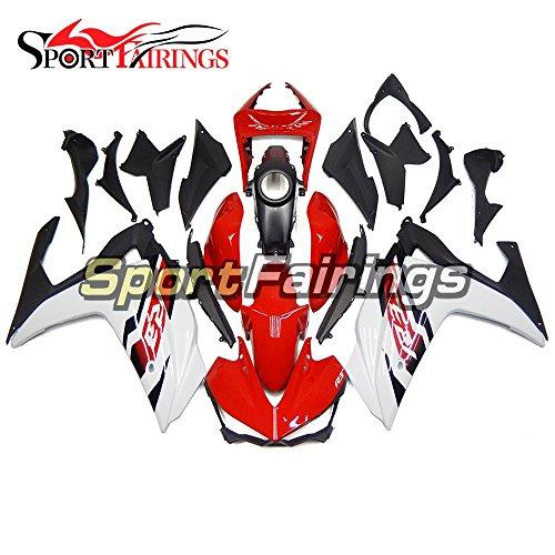 Sportfairings Motorbike Complete Fairing Kit For Yamaha R25 R3 15-16 2015 2016 Body Kit Red White