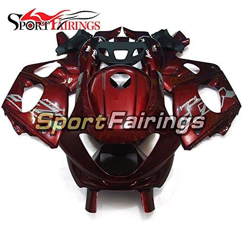 Sportfairings Motorbike Complete Fairing Kit For Yamaha YZF600R Thundercat 1997-2007 Body Kit Pearl Red