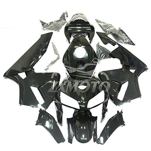 ZXMOTO Motorbike Bodywork Fairing Kit for Honda CBR600RR F5 2005-2006 Painted Glossy Black