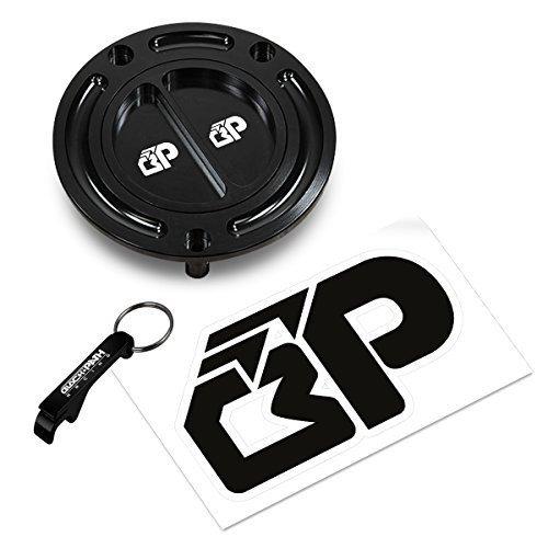 BlackPath - Honda Gas Cap CBR F3  F4  F4i  RC51  600  900  929  954  929RR  954RR Fuel Gas Cap Black T6 Billet