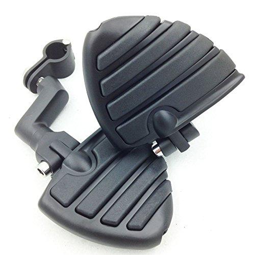 Motorbike 1 14 Wing Footpegs Offset mount Clamps for SUZUKI VL125 VL250 VZ1500 C800 C1800RT