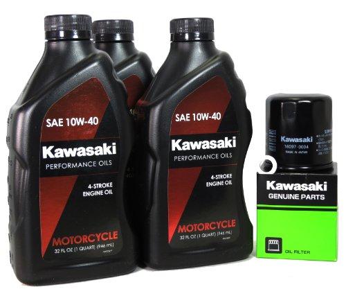 2008 Kawasaki NINJA 650R Oil Change Kit