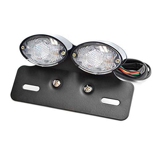 Krator Custom LED License Plate Taillight Turn Signals For Buell Lighting Thunderbolt Cyclone Ulysses Blast
