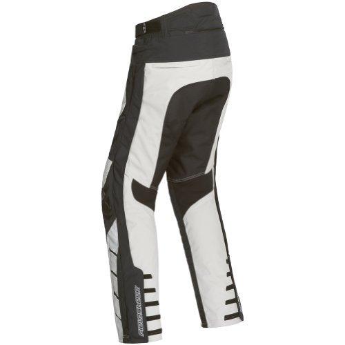 Fieldsheer Adventure Tour Women's Textile Sports Bike Motorcycle Pant - Silver / Medium