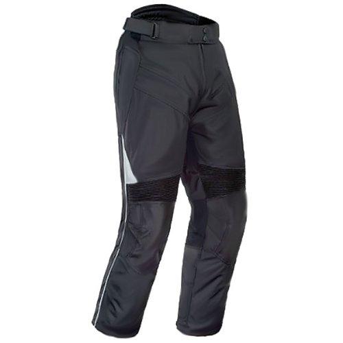 Tour Master Venture Women's Textile Harley Touring Motorcycle Pants - Black / Tall Large