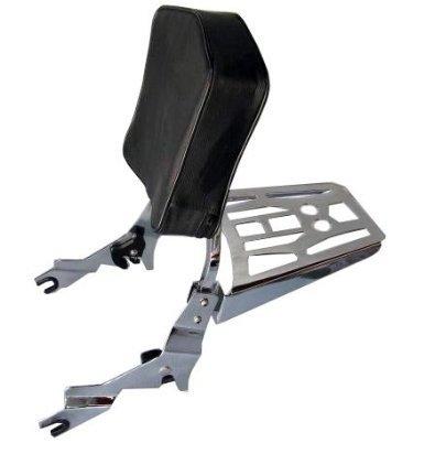 Detachable Sissy Bar/backrest And Luggage Rack For Harley Davidson Sportster 1994-2003 Xl Models