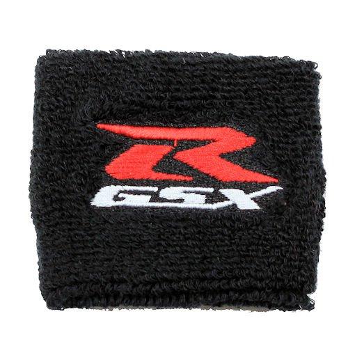 Suzuki GSXR Black Clutch Reservoir Cover by MotoSocks Fits GSXR GSX-R 600 750 1000 1300 Hayabusa Katana TL 1000 SV 650