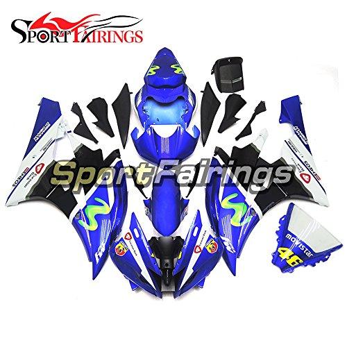 Sportfairings ABS Fairing Kits For Yamaha YZF R6 2006 2007 Year 06 07 Fairings Motorcycle Body Kits Blue Cowlings
