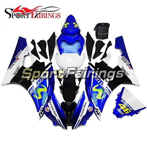 Sportfairings Blue ABS Fairing Kits For Yamaha YZF R6 2006 2007 Year 06 07 Fairings Motorcycle Cowlings