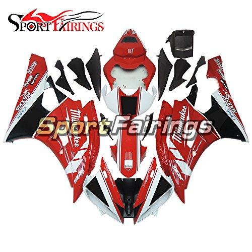 Sportfairings Fairing Kits For Yamaha YZF R6 2006 2007 Year 06 07 Fairings Motorcycle Body Kits ABS Plastic Red White Black