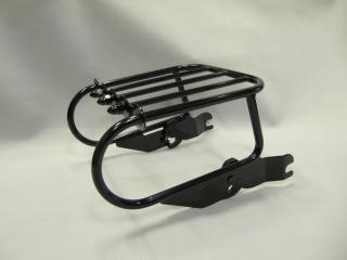 Two-Up Black Detachable Luggage Rack For 1997-2002 Harley Davidson Softail Heritage Springer FLSTS