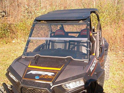 Polaris RZR 10001000-4XPK1 and 2015 RZR 900 Clear Folding Front WindshieldA FULL 14