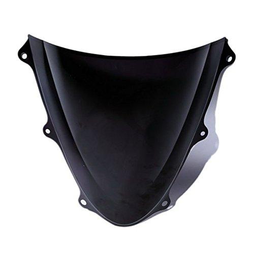 Double Bubble Dark Smoke Windshield Windscreen For SUZUKI GSXR600 750 2011-2014