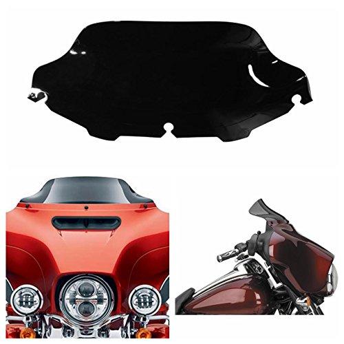 Motorcycle Windscreen Windshield for Harley Electra Street Glide Touring Bike 1996-2013 Dark Smoked Black