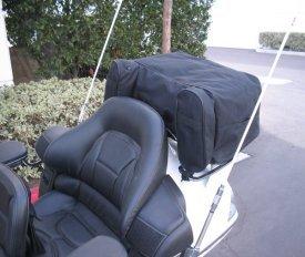 Champion Honda Goldwing 1800 Rack Luggage W/ Rain Cover