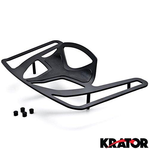 Krator® Luggage Rack Black Cargo Travel Trunk Rack Mount For Honda Goldwing Gl1800 Models 2001-2002 Except F6b