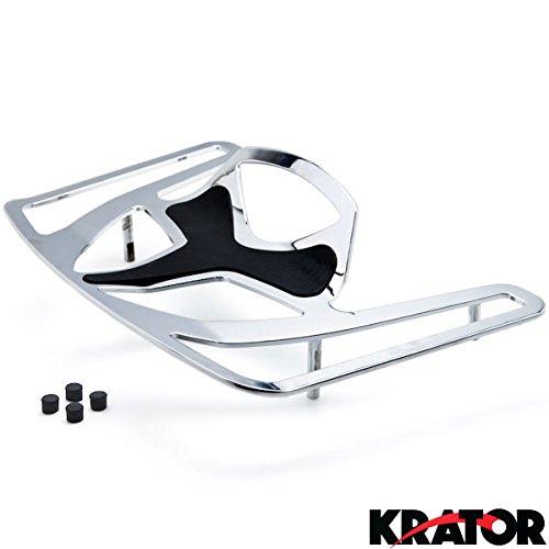 Krator® Luggage Rack Chrome Cargo Travel Trunk Rack Mount For Honda Goldwing Gl1800 Models 2009-2010 Except F6b